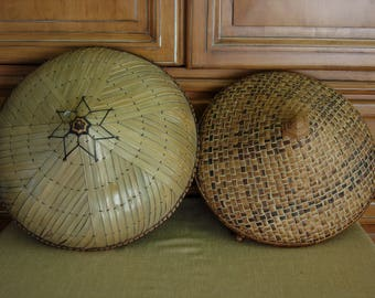 Asian Coolie Sun Hats (pair)