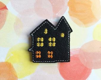 Halloween Felties, Haunted House, Fall Felties