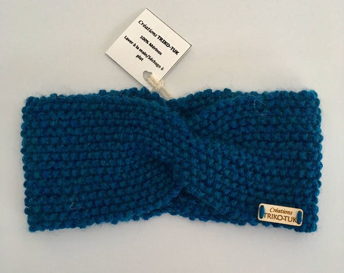 Kids headband 100% Merino Wool