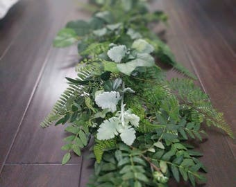 Fern and Eucalyptus Garland
