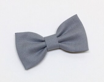 Girls Hair Clips - Gray - Hair Clips - Clips or Headbands