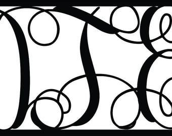 Custom Wall Monogram