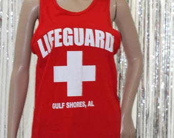 Vintage 90's Official Lifeguard Tank (S)