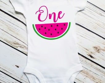 First Birthday, Watermelon First Birthday, Two,  One in a Melon, Watermelon party, Smash Cake, 1st Birthday Outfit, Watermelon Birthday