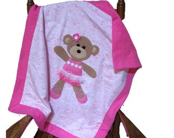 Ballerina Bear Blanket