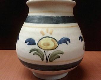 "La Menora"" Talavera Spanish Vase from mid 1900s"