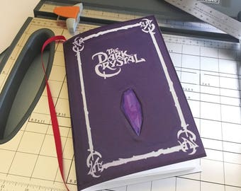 INSTANT DOWNLOAD The Dark Crystal DIY Notebook Printable Download