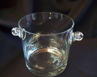 Tiffeny & Company Crystal Ice Bucket