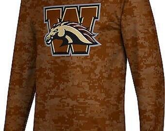 ProSphere Men's Western Michigan University Digital Long Sleeve Tee (WMU)