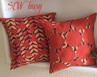 Pair of pillowcases, handmade pillowcases