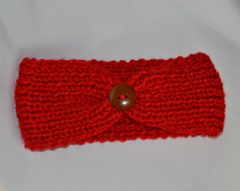 knitted headband, Knit headband, photo prop, knitted ear warmer, baby headband, toddler band, Girls headband, READY TO SHIP