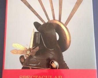 Spectacular HELMETS of JAPAN 16TH-19TH century SAMURAI armour art ... hardcover / Japan Society, Inc.