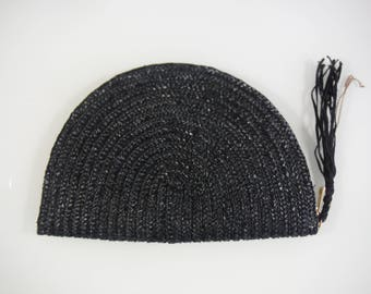 Handmade straw clutch/straw wallet/purse/fan clutch bag