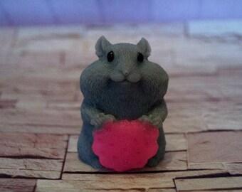 Hamster Soap Hamster figure Gift for mother Valentine's Day gift for her Baby Shower favors for kids Soap Hamster lover gift Little Hamster