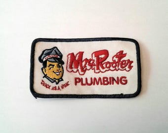 Vintage Mr. Rooter Patch