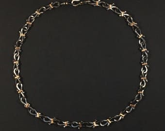 Sterling Chain Link Necklace, Chelsea Link Necklace