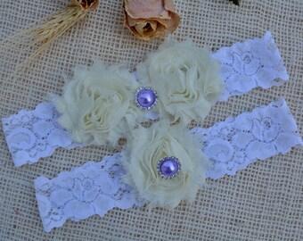 Bridal Garter Ivory , White Garter Set, Bridal Garter, Gift For Wedding, Bridesmaid Garter, Lace Garter Set, Garter Set, Ivory Keep Garter