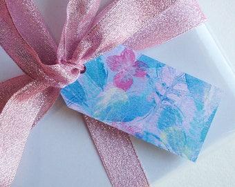 Printable gift tags, Pastel Garden, Corokia Studio design