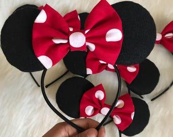 Kids Minnie Mouse headbands