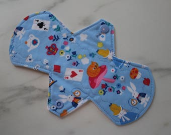 "8"" liner, reusable cloth pantyliner - alice"