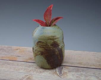 Rustic Flower Vase, Bud Vase, Flower Vase, Flower Pot, Wheelthrown, Gift Idea