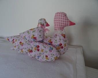 Facontilda duck duckling pink tones