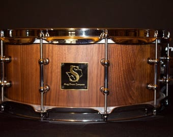 6x14 Walnut Stave Snare Drum