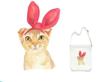 023 Cute Cat Bag,Canvas Tote Bag,Handbags Crossbody Bags printed Bag,Market Bag,Cotton Tote Bag,Large Canvas Tote,Cat Tote Bag,Animal Bag