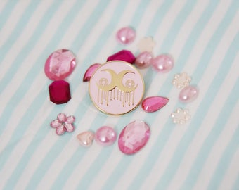Moonlight Jewel Logo Enamel Pin