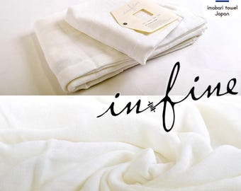 Custom Personalized Embroidered Hand and Bath Towels - Infine imabari towel - Made In Japan - Gauze Type