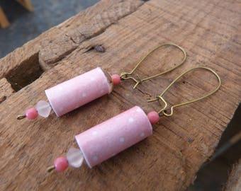 BO polka dot paper beads