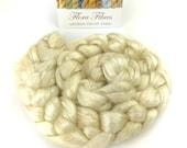 Botanically dyed bamboo spinning fibre, ideal for beginners, vegan, 50g, for spinning or needle felting, UK
