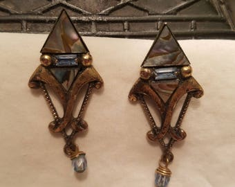 Mary DeMarco Earrings Pierced  Vintage
