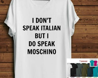 Inspired Mosch*no shirt. Parody Shirt. Mosch*no tee. Mosch*no t-shirt. Mosch*no tshirt Haut. Tumblr Shirt tee.Fashion Blogger Tee.Pinterest