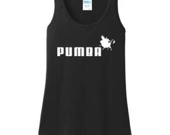 PUMBA Ladies Tank Top #D003
