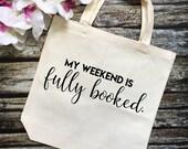 Fully Booked Tote Bag- Bo...