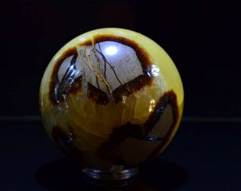 Septerye Sphere, Natural stone sphere, polished sphere, minerals & rocks, african minerals, Dragon Stone, Display Sphere, Home Decor, Rare