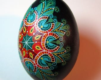 St. Patrick's day Gift.Traditional Ukrainian Easter egg.Hand painted Easter eggs.Pysanka.Ukrainian real Easter eggs.Batic eggs.Goose pysanka