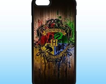 Harry Potter Hogwarts Custom Iphone Case, Iphone 5, 6, 7, 8, X
