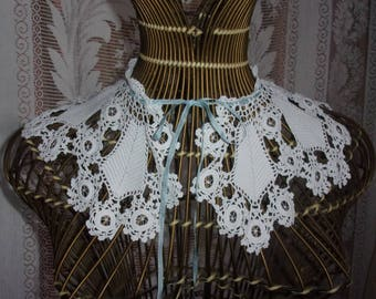A former collar lace of Ireland for deco shabby