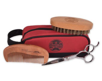 Beaver Scooter Beard and Mustache Grooming Set for Men