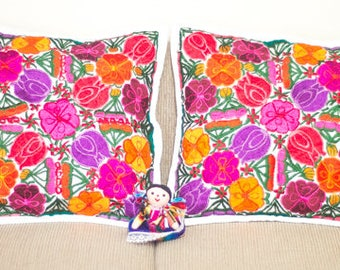 Pair of Mexican Pillow Covers