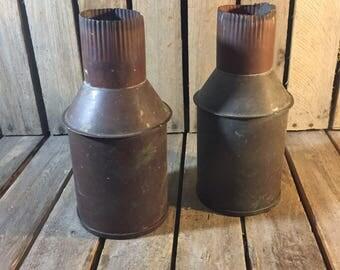 Vintage Down Spouts, Set of 2 Down Spouts