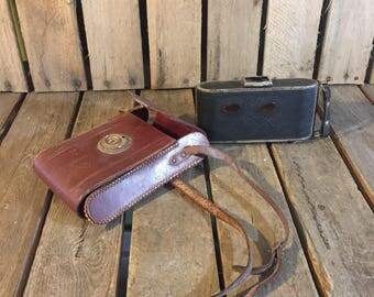 Vintage Camera and Case