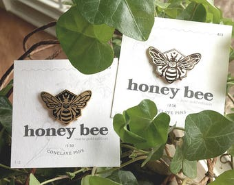 Honey Bee Enamel Pin