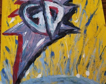 Grateful Dead Inspired  Original Painting