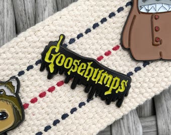 Goosebumps Soft Enamel Pin - Halloween Enamel Pin