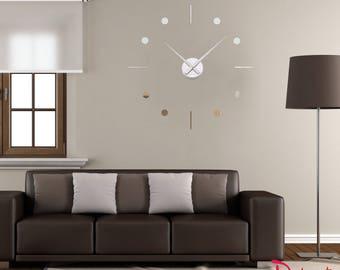 """Mirror wall clock """"Minimalism 115"""""""
