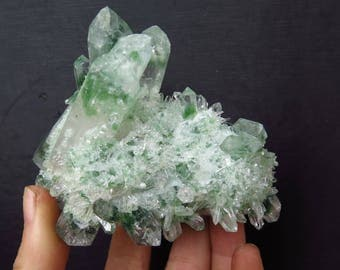 Green Quartz Crystals China Heat Treated