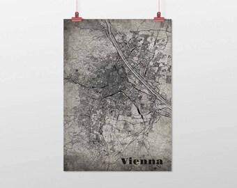 Vienna/VIENNA-Din A4/DIN A3-print-old-school